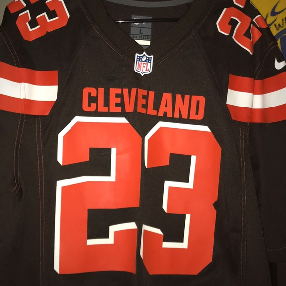 official photos b8960 42a20 Joe Haden Cleveland Browns Nike Jersey